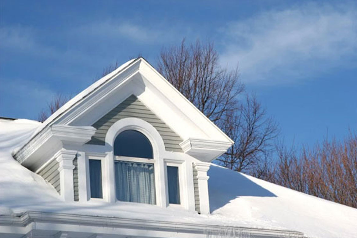 How to Winter-Proof your Roof: Three Steps.